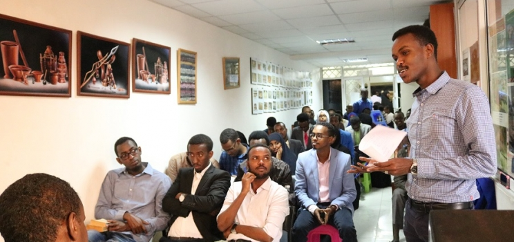 Promoting Somali authors