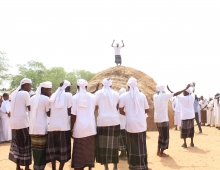 AWJAMA CULTURAL CENTRE AT MANDERA SOMALI CULTURAL FESTIVAL.